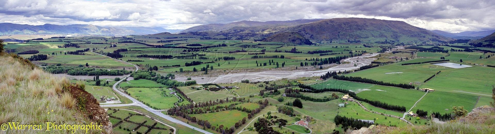 Rural New Zealand Panorama Photo Wp00835