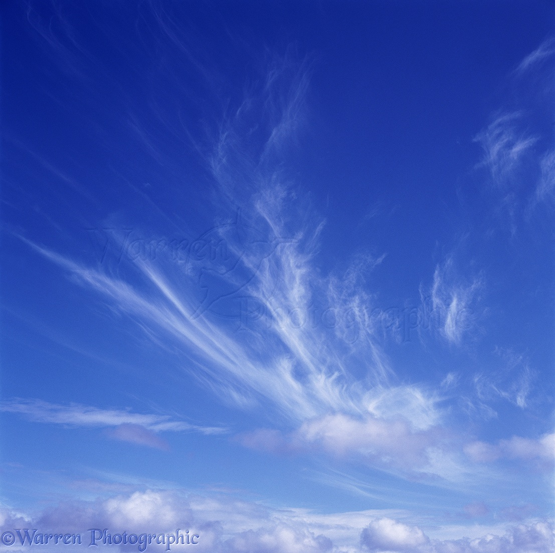 Blue Sky With Clouds Photo Wp00904