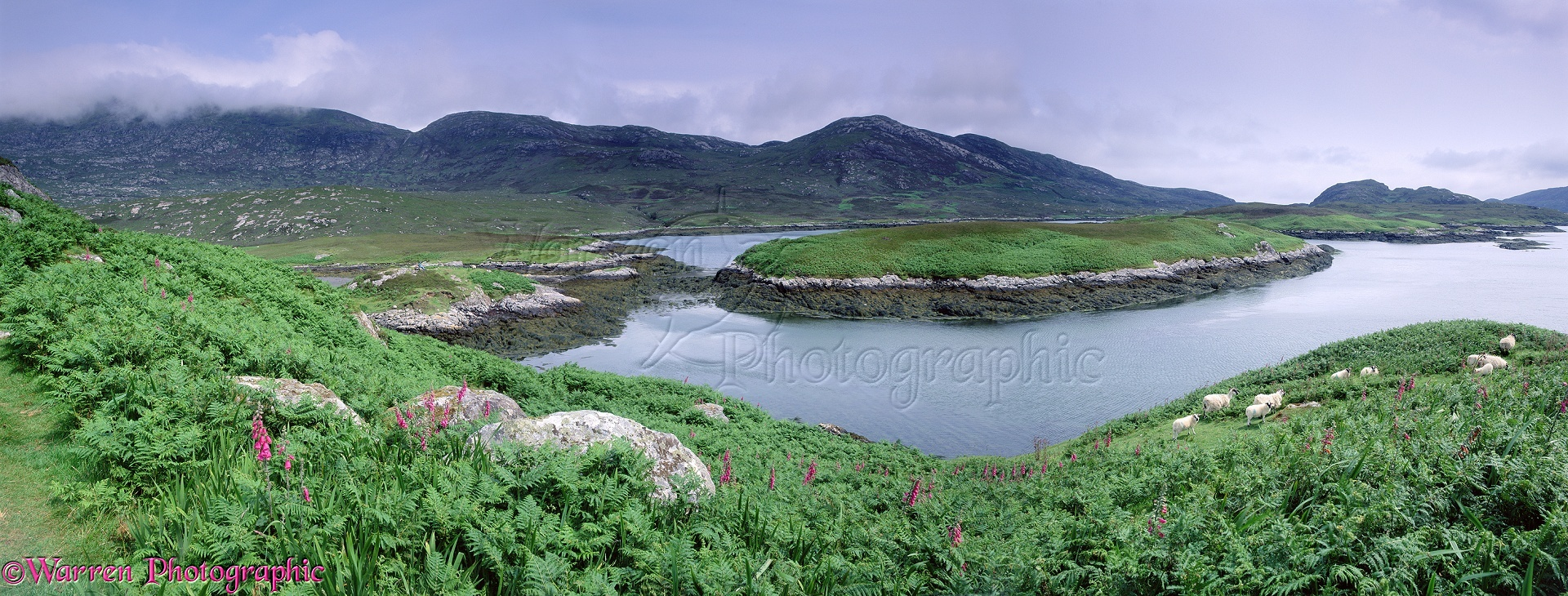Panorama South Uist
