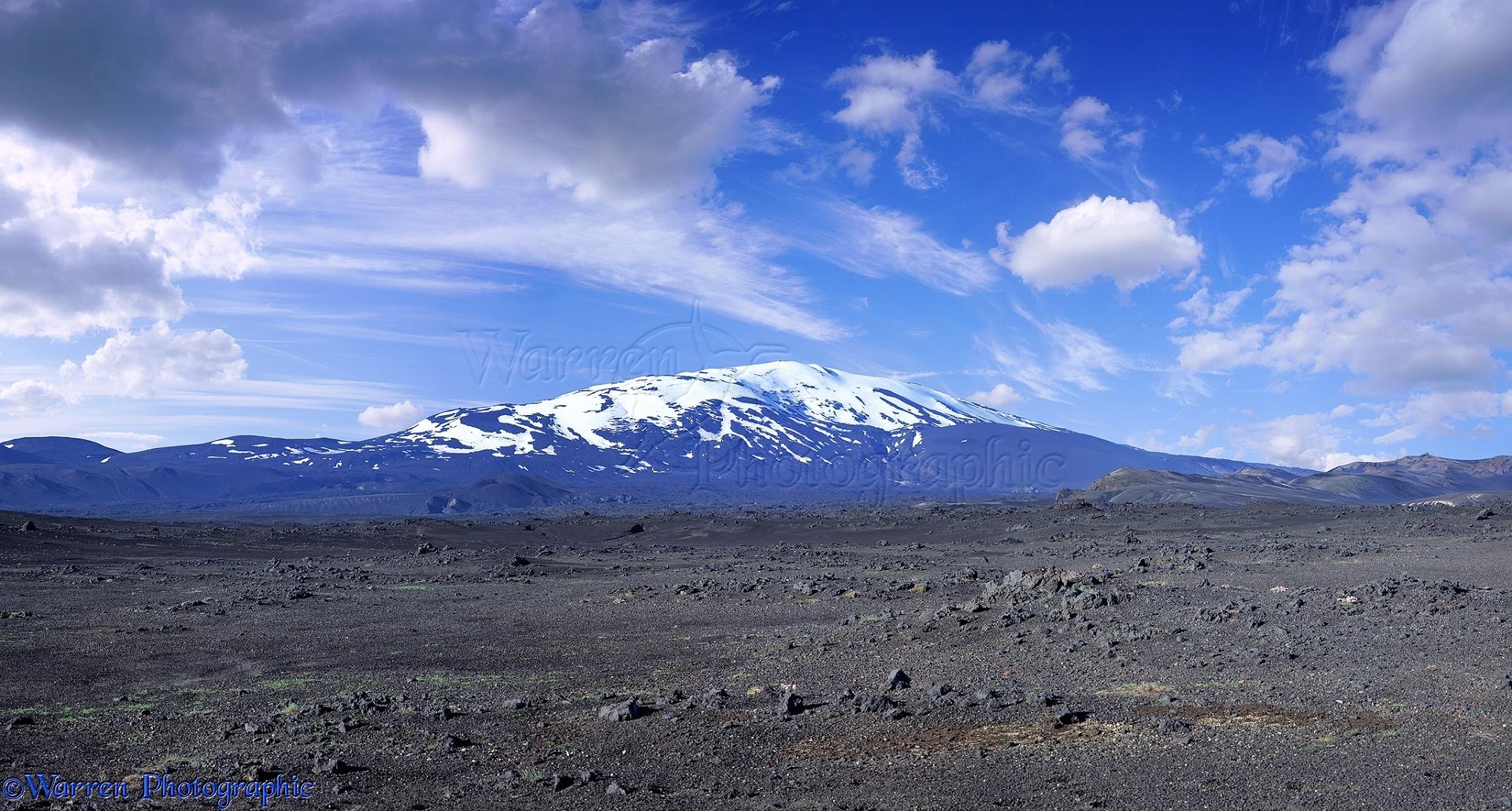 WP01376 Mount Hekla . Iceland .: www.warrenphotographic.co.uk/01376-hekla-panorama