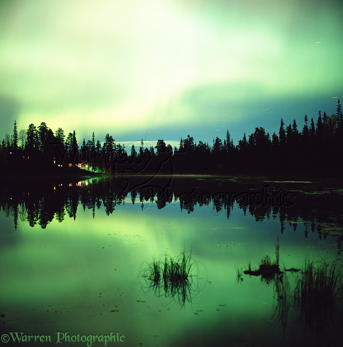 Aurora borealis photo wp01837