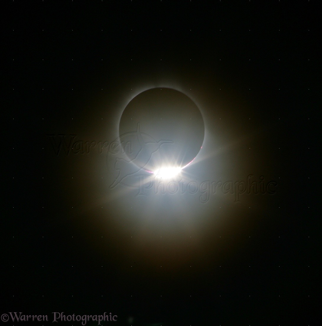 Total Solar Eclipse Diamond Ring 29th March 2006 Photo