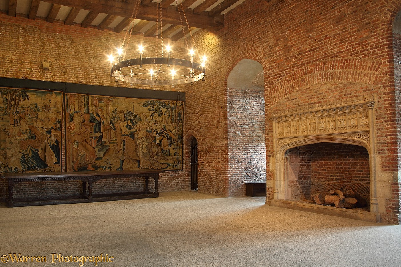 Tattershall castle interior photo - WP29097
