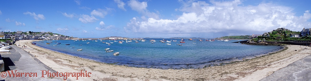 St. Mary's bay, Scilly Isles.  England