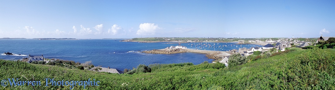 View of St. Mary's, Scilly Isles.  England