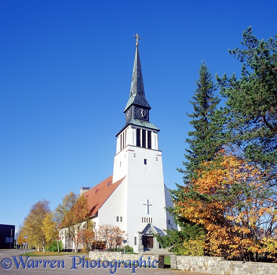 Church.  Kemij�rvi, Finland