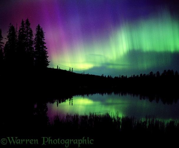Aurora borealis photo wp03347