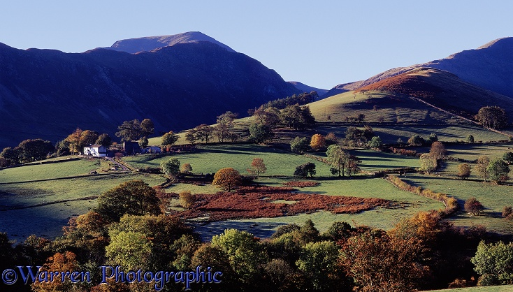 Lake District scene.  Cumbria, England