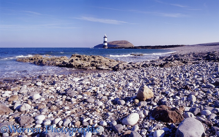 Penmon lighthouse.  Anglesea, Wales