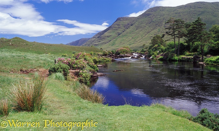 Erriff River.  Co. Mayo, Ireland