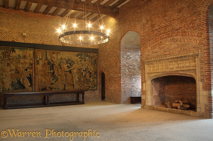 Tattershall Castle Interior Photo Wp29097