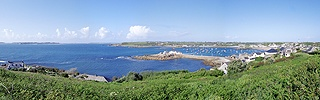 View of St. Mary's, Scilly Isles