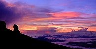 Sunrise at Mt. Kinabalu