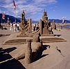 Harrison Hot Springs sand sculpture