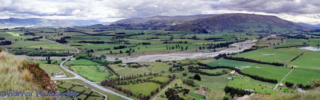 Rural New Zealand panorama