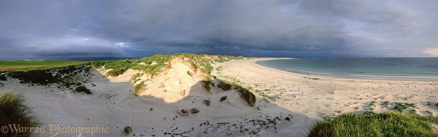 North Uist sand dunes