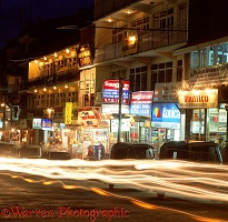 Manali Mall at night