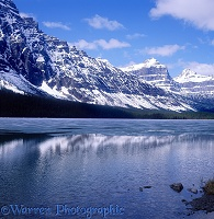 Rocky Mountains scene