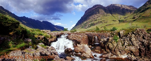 Glen Coe panoramic view