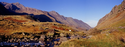 Snowdonia panoramic view