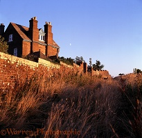 Whitenothe Cottages at sunset