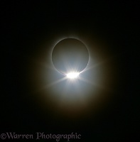Total solar eclipse - diamond ring, 29th March 2006