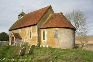 Twelfth Century church, Latham, Sussex