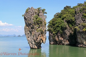 Ko Tapu limestone pinnacle islet