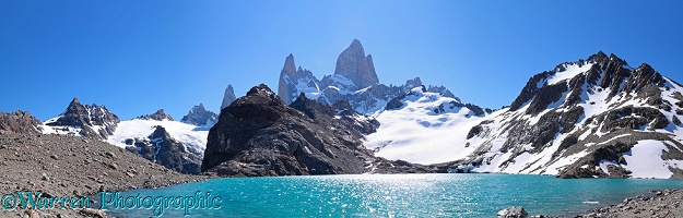 Mt Fitz Roy and Laguna Los Tres