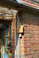 Bee box for Red Mason Bees