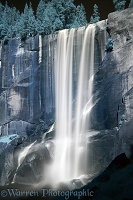 Vernal Falls in near infrared