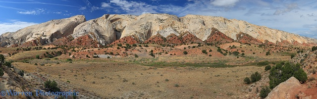 Waterpocket Fold rock formation