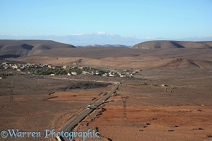 Desert township, Ait Saoun, southern Atlas Mountains