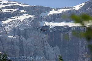 Helicopter, French Pyrenees
