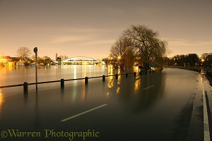 Weybridge flooding 2014
