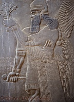 Ancient Assyria king's palace Nimrud
