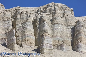 White rocks at Aktau Mountains