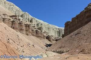 Colourful rocks at Aktau Mountains