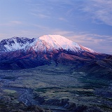 Mt. St. Helens at sunset
