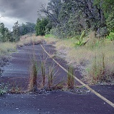 Disused road on Hawaii