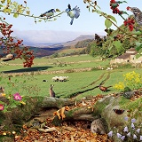 Yorkshire Dales Hedgerow jigsaw