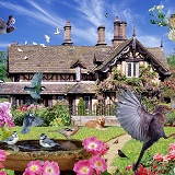 Summer birds jigsaw