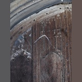 Soprano Pipistrelle Bat emerging from church